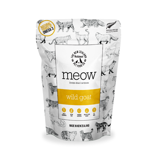 Meow Wild Goat Single-Ingredient Freeze Dried Cat Treats