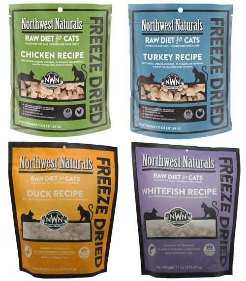 Northwest Naturals Freeze Dried Cat Food