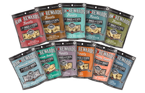 Northwest Naturals Raw Rewards Treats for Dogs and Cats