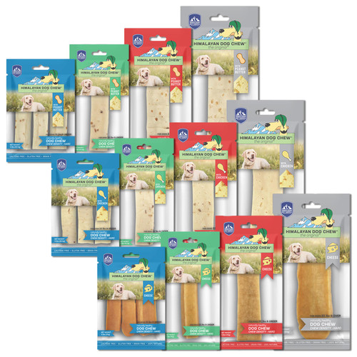 Himalayan Pet Supply The Original Cheese Dog Chew Hard Density Treats
