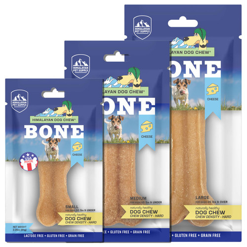 Himalayan Pet Supply Bone Cheese Dog Chew