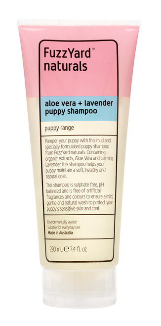 Fuzzyard Aloe Vera and Lavender Puppy Shampoo