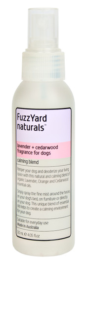 Fuzzyard Lavender and Cedarwood Calming Spray Aromatherapy Mist