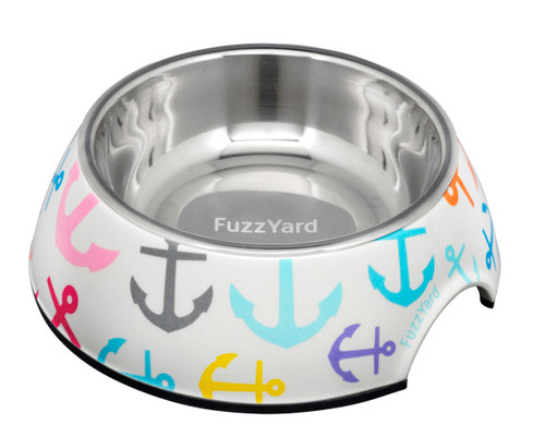Fuzzyard Easy Feeder Bowl - Ahoy!