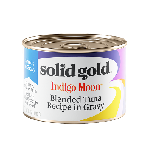 Solid Gold Indigo Moon Blended Tuna Complete Diet Canned Cat Food