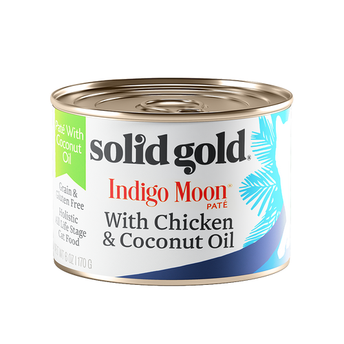 Solid Gold Indigo Moon Chicken & Coconut Oil Complete Diet Canned Cat Food