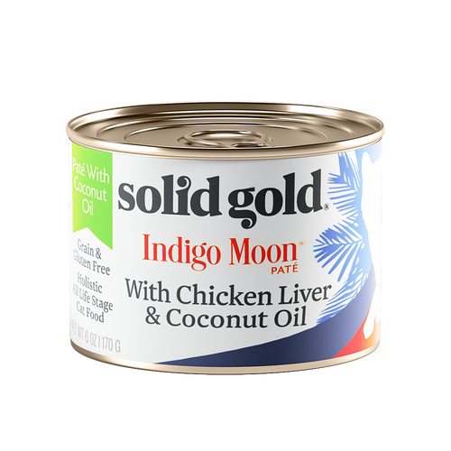 Solid Gold Indigo Moon Chicken Liver & Coconut Oil Complete Diet Canned Cat Food