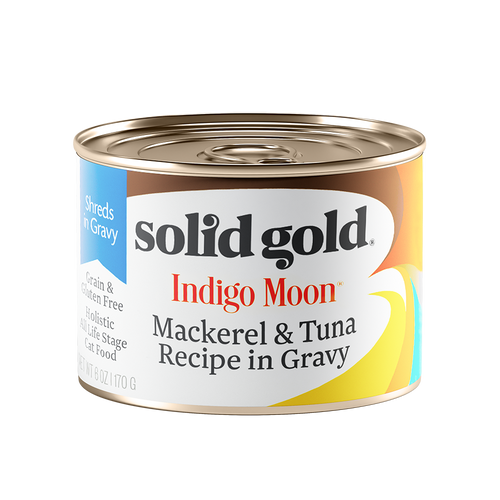 Solid Gold Indigo Moon Mackerel & Tuna Complete Diet Canned Cat Food