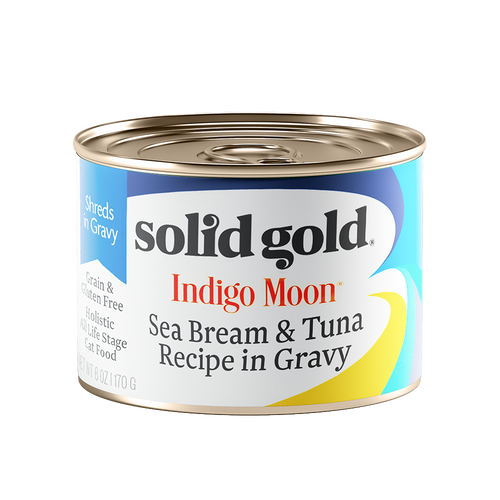 Solid Gold Indigo Moon Seabream & Tuna Complete Diet Canned Cat Food