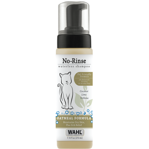 Wahl No-Rinse Waterless Cat Shampoo