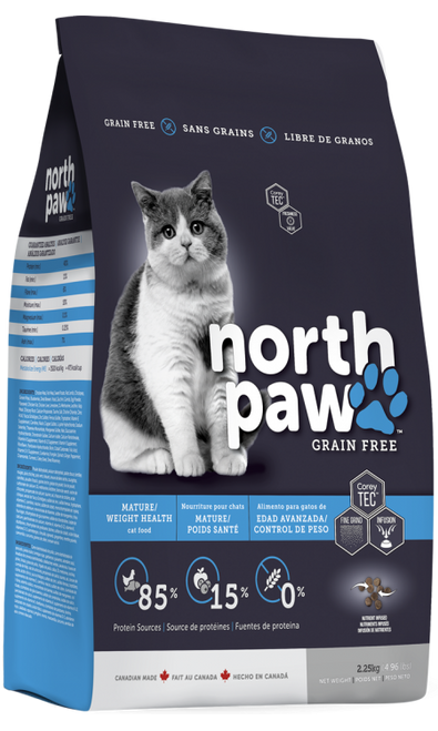 35% OFF North Paw Mature/Weight Health Cat Food