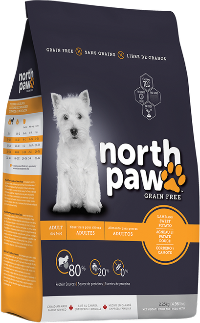 35% OFF North Paw Lamb and Sweet Potato Dog Food