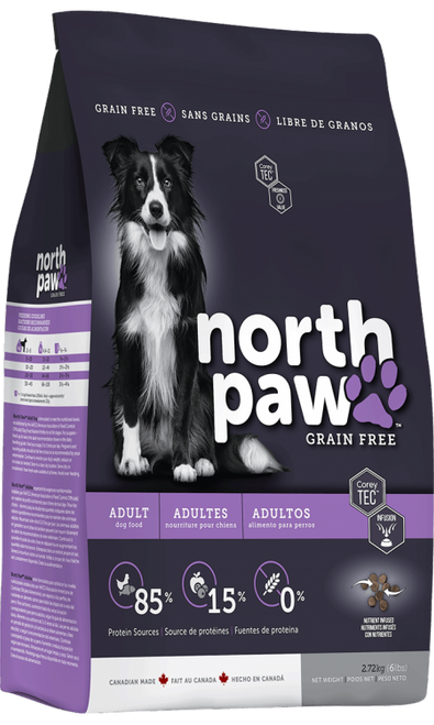 35% OFF North Paw Adult Dog Food