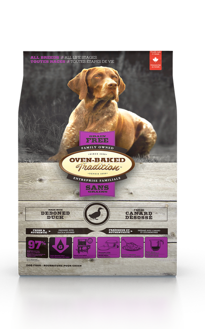 Oven-Baked Tradition Grain Free Duck Kibbles