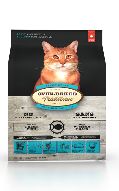 Oven-Baked Tradition Adult Fish Cat Kibbles