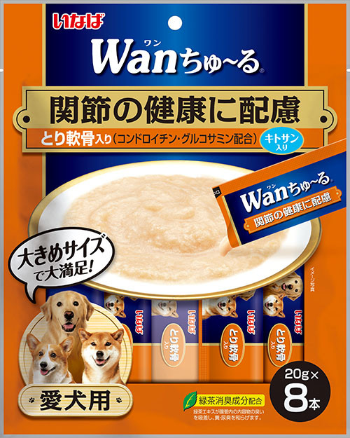 Inaba Functional Wan Churu Chicken with Cartilage (Joint Support) Creamy Treat