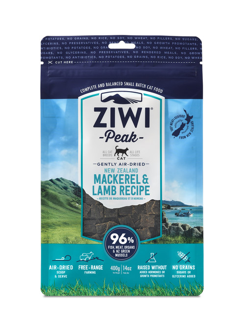 ZIWI Peak Air-Dried Mackerel and Lamb Cat Food