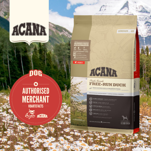 ACANA Singles Free-Run Duck for Dogs