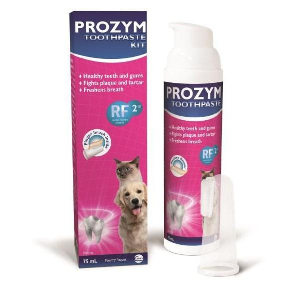 Prozym Dental Toothpaste Kit For Cats and Dogs 75mL (2.53 fl oz)