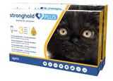 Stronghold PLUS för små katter upp till 5,5 lbs (upp till 2,5 kg) - Guld 6 doser