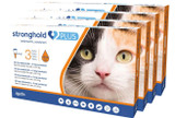 Stronghold PLUS for Medium Cats 5.5-11 lbs (2.5-5 kg) - Orange 12 Doses