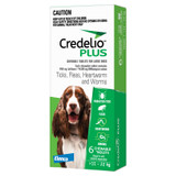 Credelio PLUS for Dogs 25.1-50 lbs (11-22 kg) - Green 6 Tablets
