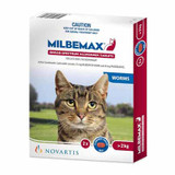 Milbemax Allwormer Tablets for Cats 4.4-17.6 lbs (up to 8 kg) - 2 Tablets