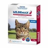 Milbemax comprimés vermifuges pour chats de 4,4 à 17,6 livres (jusqu'à 8 kg) - 2 comprimés