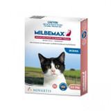 Comprimés vermifuges Milbemax pour chats jusqu'à 2 kg (4,4 lbs) - 2 comprimés