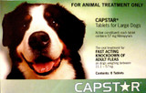 Capstar Flea Treatment Tablets for Dogs 26-125 lbs (11.1-57 kg) - Green 6 Tablets