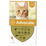 Image de l'avant-boîte de Advocate pour les chats de moins de 4 kg (9 lbs) - Orange 3 Doses