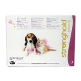 Stronghold pour chiots et chatons jusqu'à 2,5 kg (5 lbs) - Mauve 3 Doses