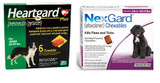 NexGard and Heartgard Combo for Dogs 24.1-50 lbs (10.1-22 kg) - 6 Month Bundle