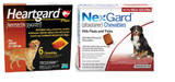 NexGard and Heartgard Combo for Dogs 60.1-100 lbs (25.1-45 kg) - 6 Month Bundle