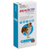 Bravecto Flea and Tick Chew pour chiens de 20 à 40 kg (44-88 lbs) - Bleu 1 Chew