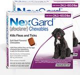 Nexgard Chews for Dogs 24.1-60 lbs (10.1-25 kg) - Purple 12 Chews