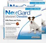 Nexgard Chews for Dogs 10.1-24 lbs (4.1-10 kg) - Blue 12 Chews