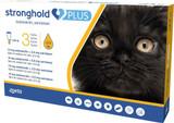 Stronghold PLUS pour les petits chats jusqu'à 2,5 kg (5,5 lbs) - Gold 3 Doses