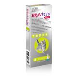 Bravecto PLUS Solution topique pour chats de 1,2 à 2,8 kg (2,6 à 6,2 lbs) - Vert 1 dose
