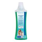 Aquadent Färskt Dental Water Additive för hundar och katter - 500 mL (16,9 fl oz)