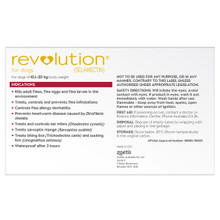 Revolution for Dogs 20.1-40 lbs - Red 6 Pack + 1 Extra Dose Free and Bonus Worming Tablets