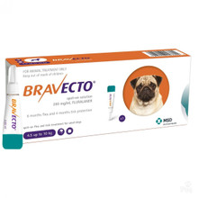 Bravecto Topical Solution for Dogs 9.9-22 lbs (4.5-10 kg) - 1 Tube