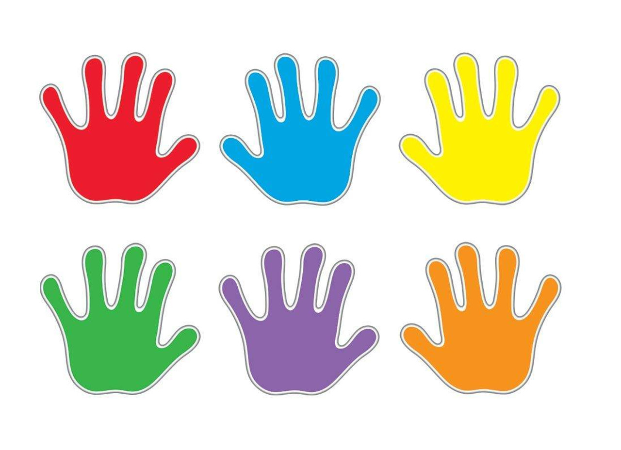 Handprints Pin Up Classic Display Accents Variety Pack Sticker Stocker