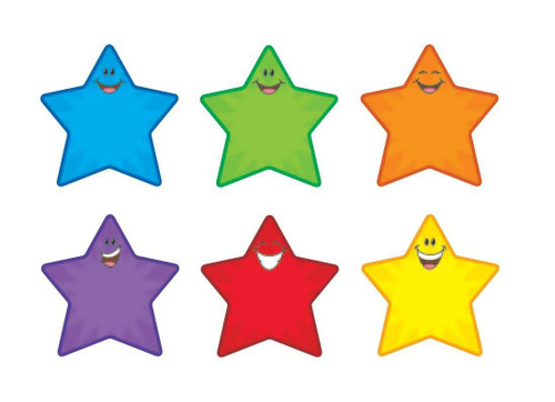 Trend Enterprises Inc Star Smiles - Pin up classic display accents - Variety Pack