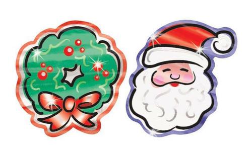 Trend Enterprises Inc TREND Christmas Charms Foil Bright Reward Stickers