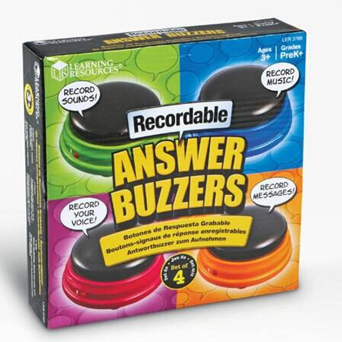 Learning Resources Learning Resources - Recordable Answer Buzzers set of 4