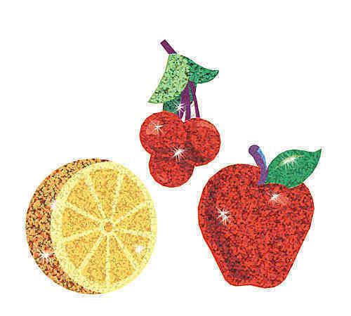 Trend Enterprises Inc TREND Festive Fruit Reward Sparkle Stickers