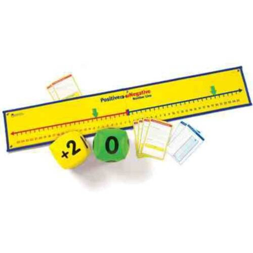 Learning Resources Learning Resources - Positive and Negative Number Line Activity