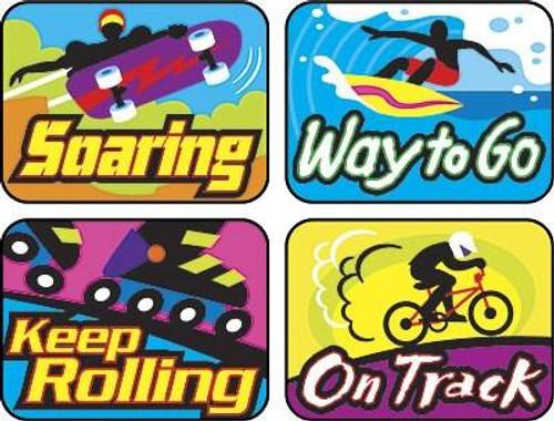 Trend Enterprises Inc TREND 100 Cool Moves Applause reward stickers