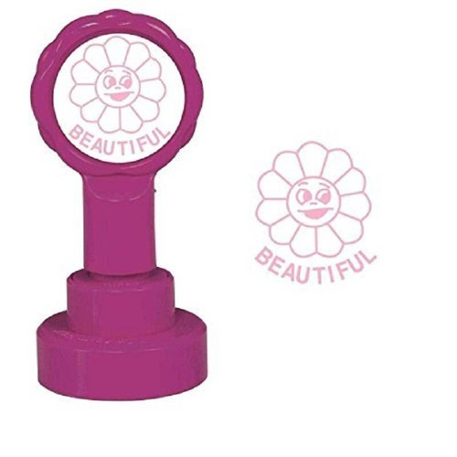 Trend Enterprises Inc Beautiful - Self inking teacher reward xstamper xclamations stamp